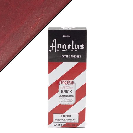 ANGELUS PERMANENT LIQUID LEATHER DYE WITH APPLICATOR 3OZ ALL COLORS