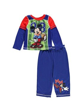 1b60fb900f Product Image Mickey Mouse Football Long Sleeve Infant Pajama