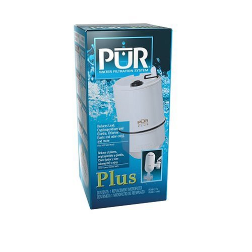 Pur Single Replacement Filter for Pur Plus Faucet-Mount Filtering Unit