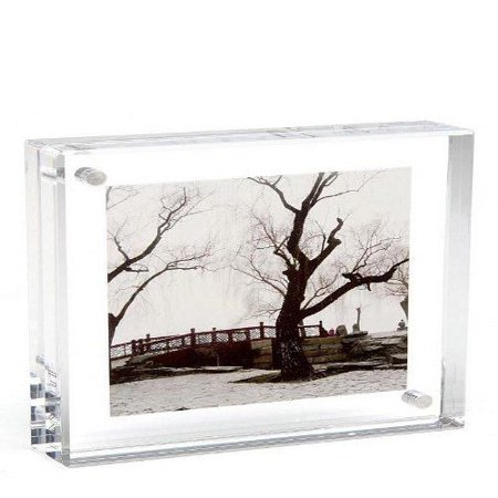 Lucite Magnetic Clear Picture Frames - 8x10\