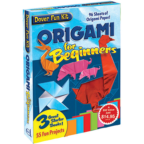 Dover Publications Origami for Beginner's Kit