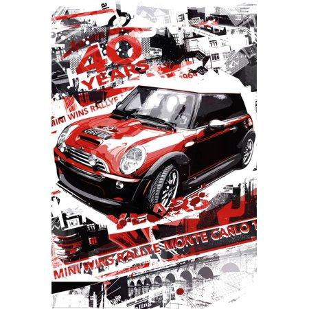 Rallye Monte Carlo (Automotive Race) Art Poster Print Poster - (Monte Carlo Racer)