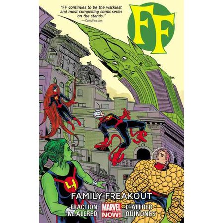 Ff   Volume 2   Family Freakout  Marvel Now