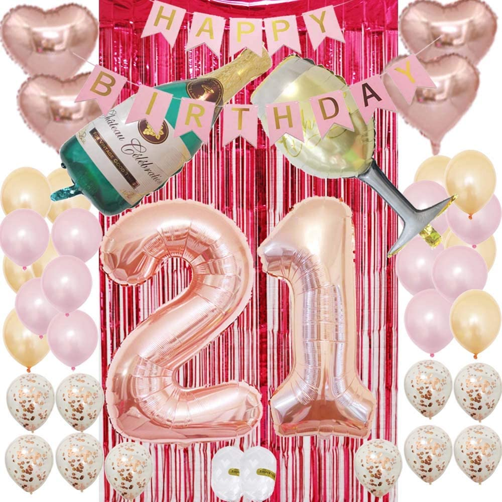 Number Balloons Birthday Number Balloon Party Decorations Supplies