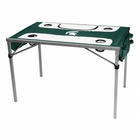 State Tailgate Table - Logo Brands 172-32T Michigan State Total Tailgate Table