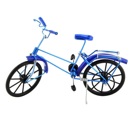 Handmade Craft Table Collection Figurine Toy Bicycle Model Decor Royal (Figurine Table)