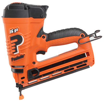 Paslode 902400 Finish Nailer System, Angled, Cordless, Lithium Ion, 16-Ga. by Paslode