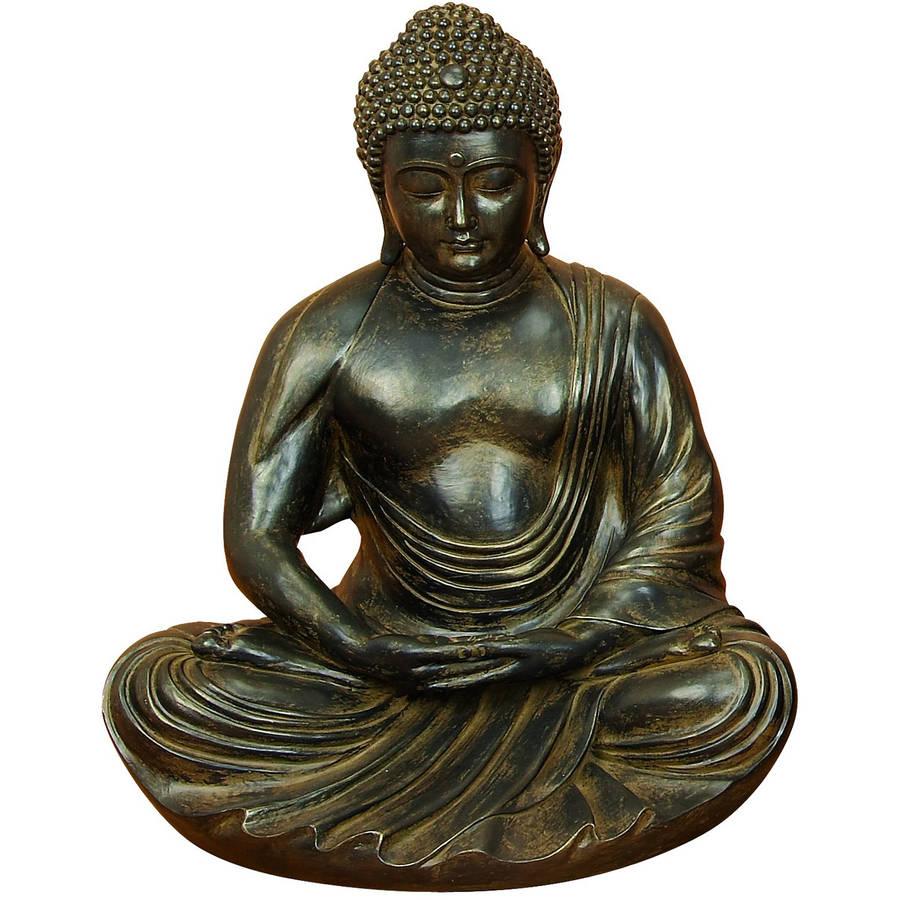Decmode Polystone Buddha, Multi Color