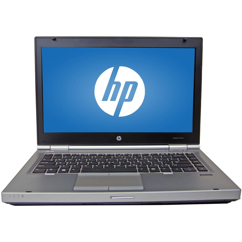 "Refurbished HP Silver 14"" Elitebook 8470P Laptop PC with Intel Core i5-3320M Processor, 8GB Memory, 750GB Hard Drive and Windows 7 Professional"