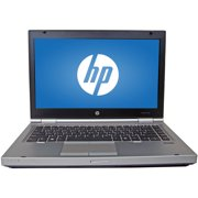 "Refurbished HP 14"" EliteBook 8470P Laptop PC with Intel Core i5-3320M Processor, 8GB Memory, 750GB Hard Drive and Windows 10 Pro"