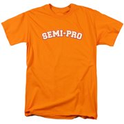 Semi Pro/Logo S/S Adult 18/1   Orange     Wbm115
