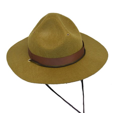 Mountie or Forest Park Ranger Hat