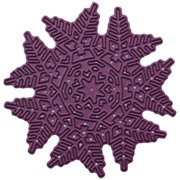 Cheery Lynn Designs Doily Die-Laced Pine Snowflake, 3 Inch X 3 Inc