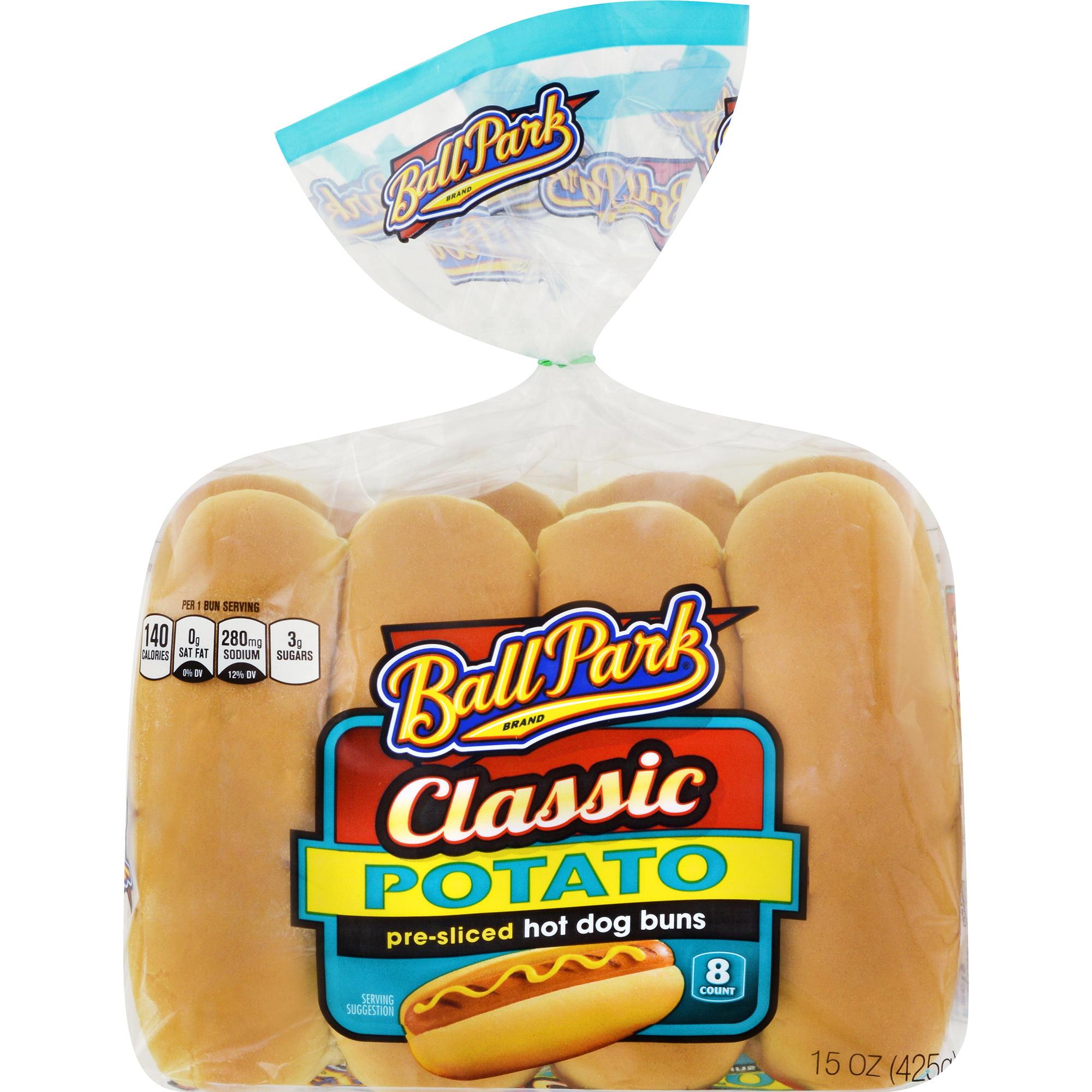 Bunny Original White Hot Dog Buns, 8 ct, 12 oz. - Walmart