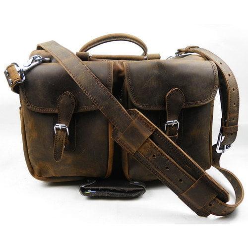 Vagabond Traveler 16'' Leather Travel Tote