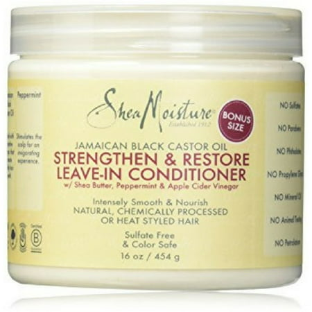 Shea Moisture Strengthen & Restore Leave-In Conditioner 16