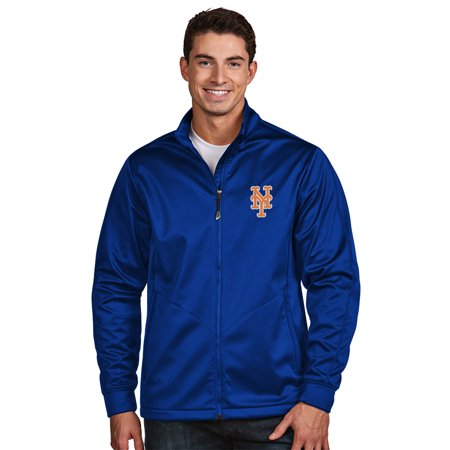 New York Mets Antigua Golf Full-Zip Jacket - (Antigua Golf Vest)