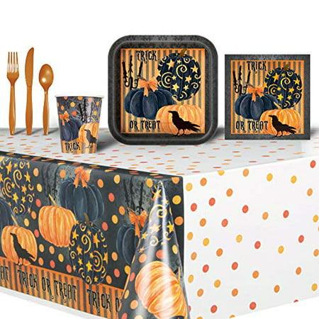 Halloween Trick or Treat Themed Party Set Bundle - Easy Halloween Themed Treats