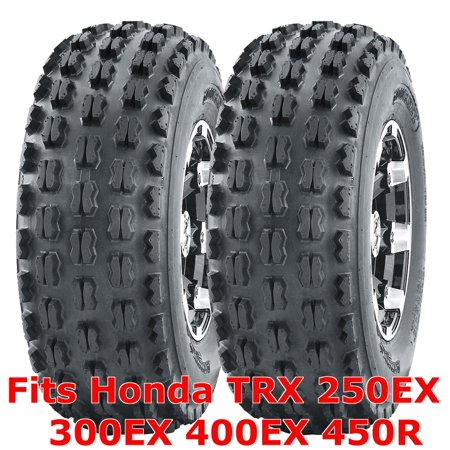 2 ATV Tires 22x7-10 22x7x10 Honda TRX 250EX 300EX 400EX 450R front GNCC (Best Tires For Honda Civic Si)