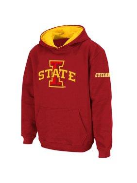 Iowa State Cyclones Stadium Athletic Youth Big Logo Pullover Hoodie - Cardinal