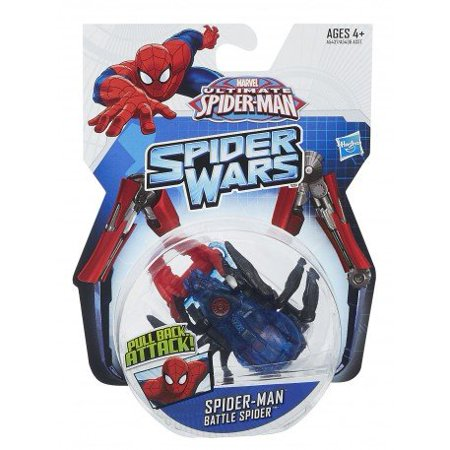 Marvel Ultimate Spider-Man Battle Spider, Pull Back Attack! By Hasbro](Spiderman Mask Replica For Sale)