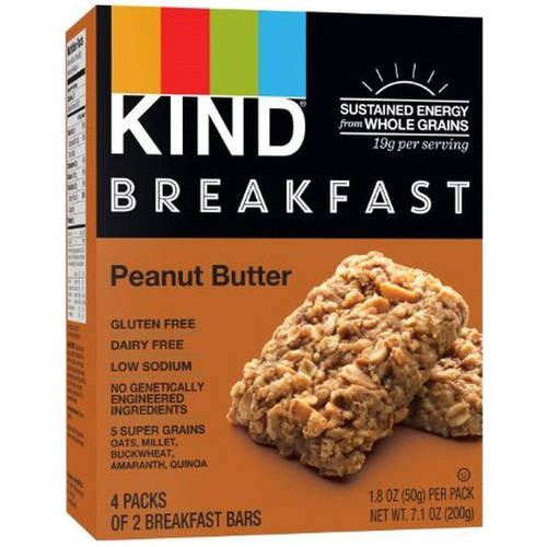 Kind Peanut Butter Breakfast Bar, 4 ct, (Pack of 12)