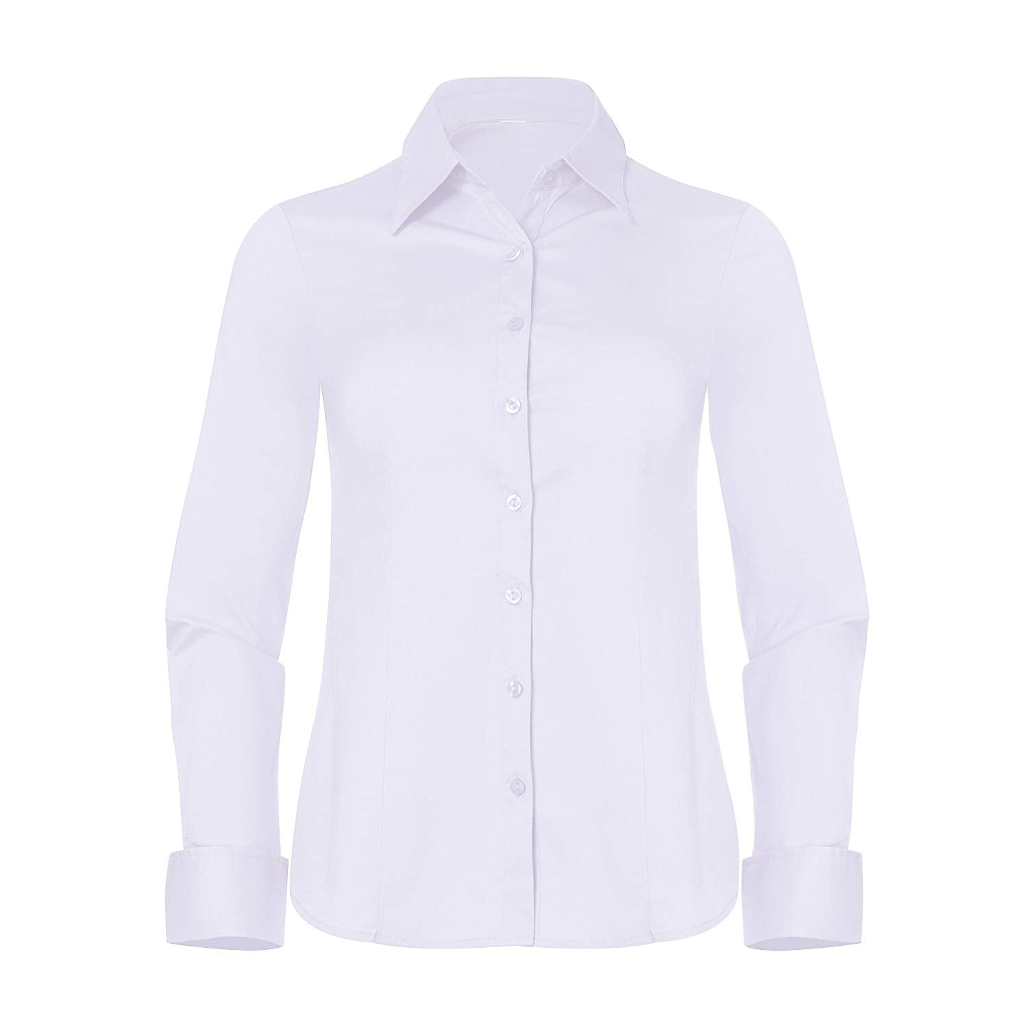 Pier 17 Pier 17 Button Down Shirts For Women Fitted Long Sleeve