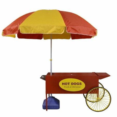 Paragon International 3090080 Large Hot Dog Cart ()