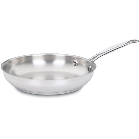 """Cuisinart Chef'S Classic Stainless Steel 9"""" Open Skillet"""