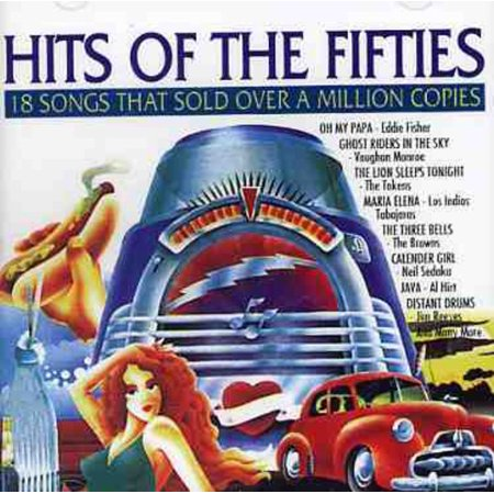 Hits of the Fifties (CD) - Fifties Hair