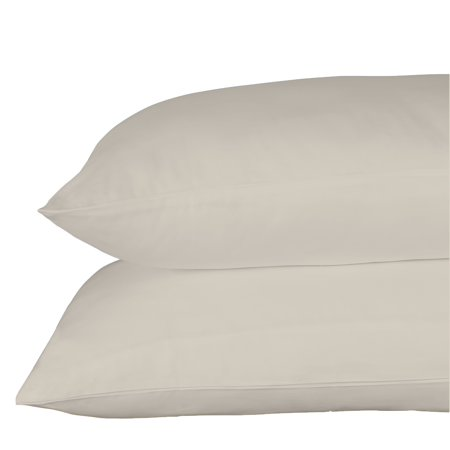 - Just Linen 540 Thread Count 100% Egyptian Quality Cotton, Solid Gray Morn, Economy Pack Of 4 Queen Pillow Cases