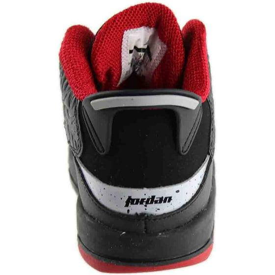 469d57aac6825f Air Jordan - Kids Air Jordan Dub Zero TD Black Gym Red Wolf Grey White  311072-013 - Walmart.com