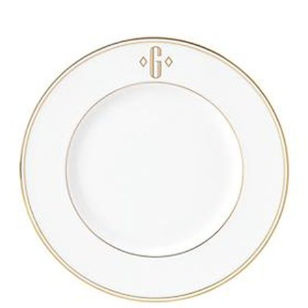 Lenox Fed Gold Mono Block Dw Accent Plate G