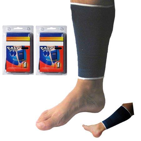 Pair Calf Compression Sleeve Brace Elastic Wrap Running Socks Leg Support (Pony Leg Wrap)