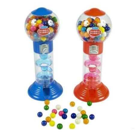 DUBBLE BUBBLE SPIRAL GUMBALL MACHINE BANK 10