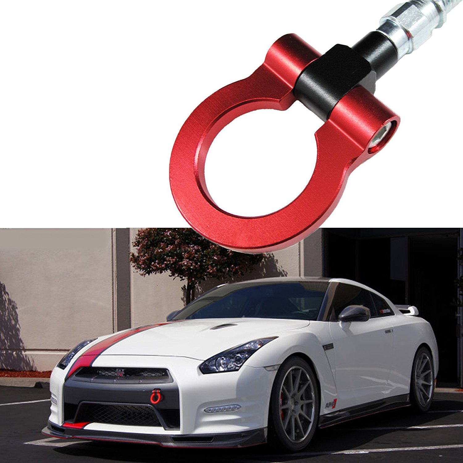 Gold MG Pro-industry Heavy Duty Front /& Rear Bumper Screw on Track Racing Tow Hook for Infiniti G35 G37 Q50L Q60L