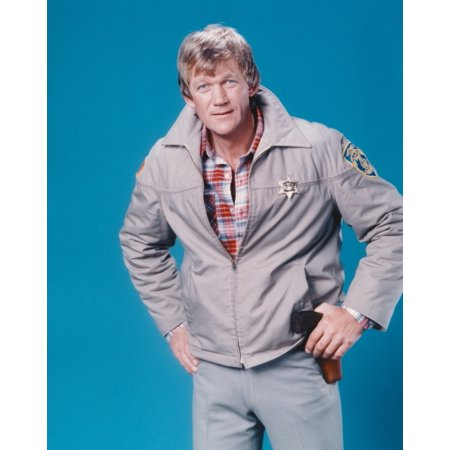 Bo Svenson Posed in Police Outfit Portrait Photo Print](Police Outfits)