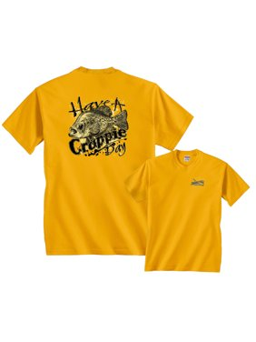 Crappie T-Shirt Have A Crappie Day Fishing