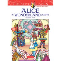 Dover Publications Alice In Wonderland Adult Coloring Book