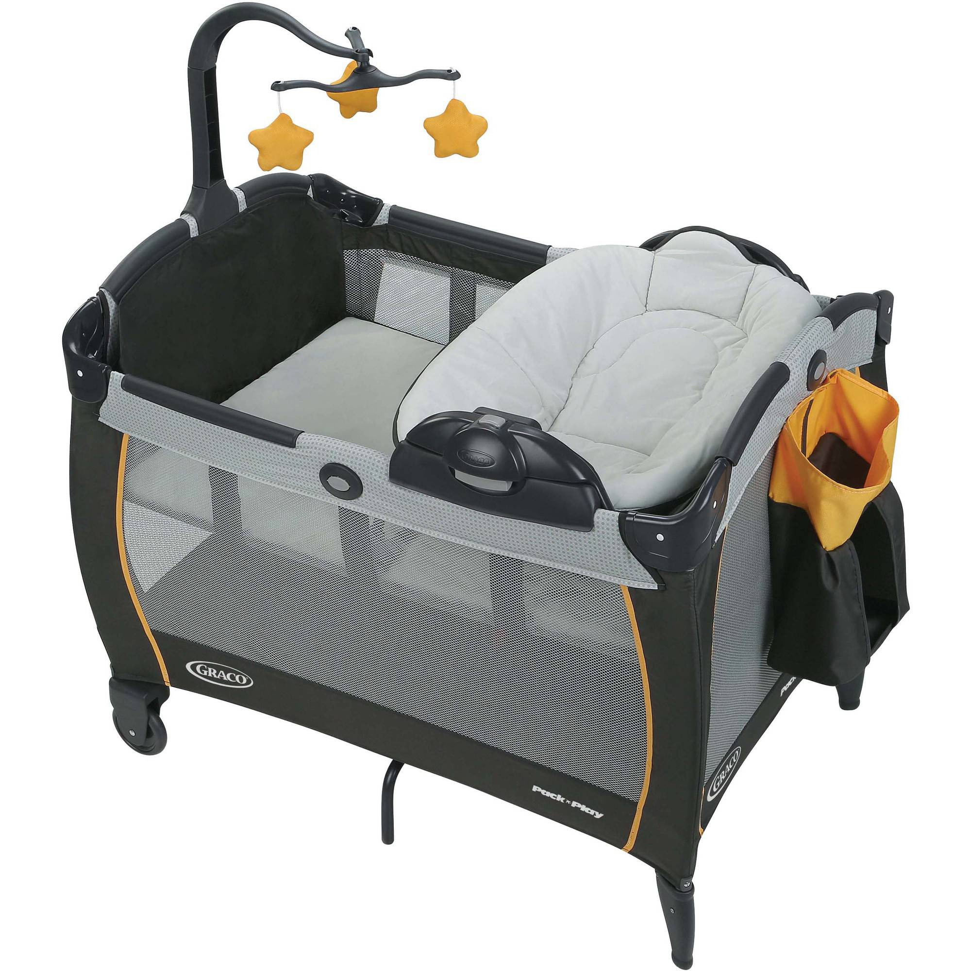 Graco Pack 'n Play Playard Portable Napper and Changer, Sunshine