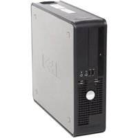 Refurbished Dell GX755 Small Form Factor Desktop PC with Intel Core 2 Duo Processor, 4GB Memory, 750GB Hard Drive and Windows 10 Pro (Monitor Not Included)