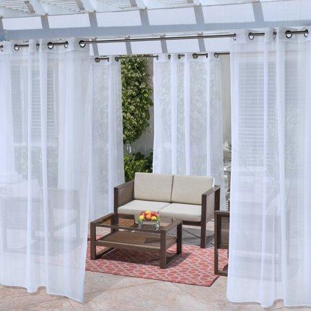 Outdoor Decor No Se-em Grommet Outdoor Curtain Panel - Outdoor Decor No Se-em Grommet Outdoor Curtain Panel - Walmart.com
