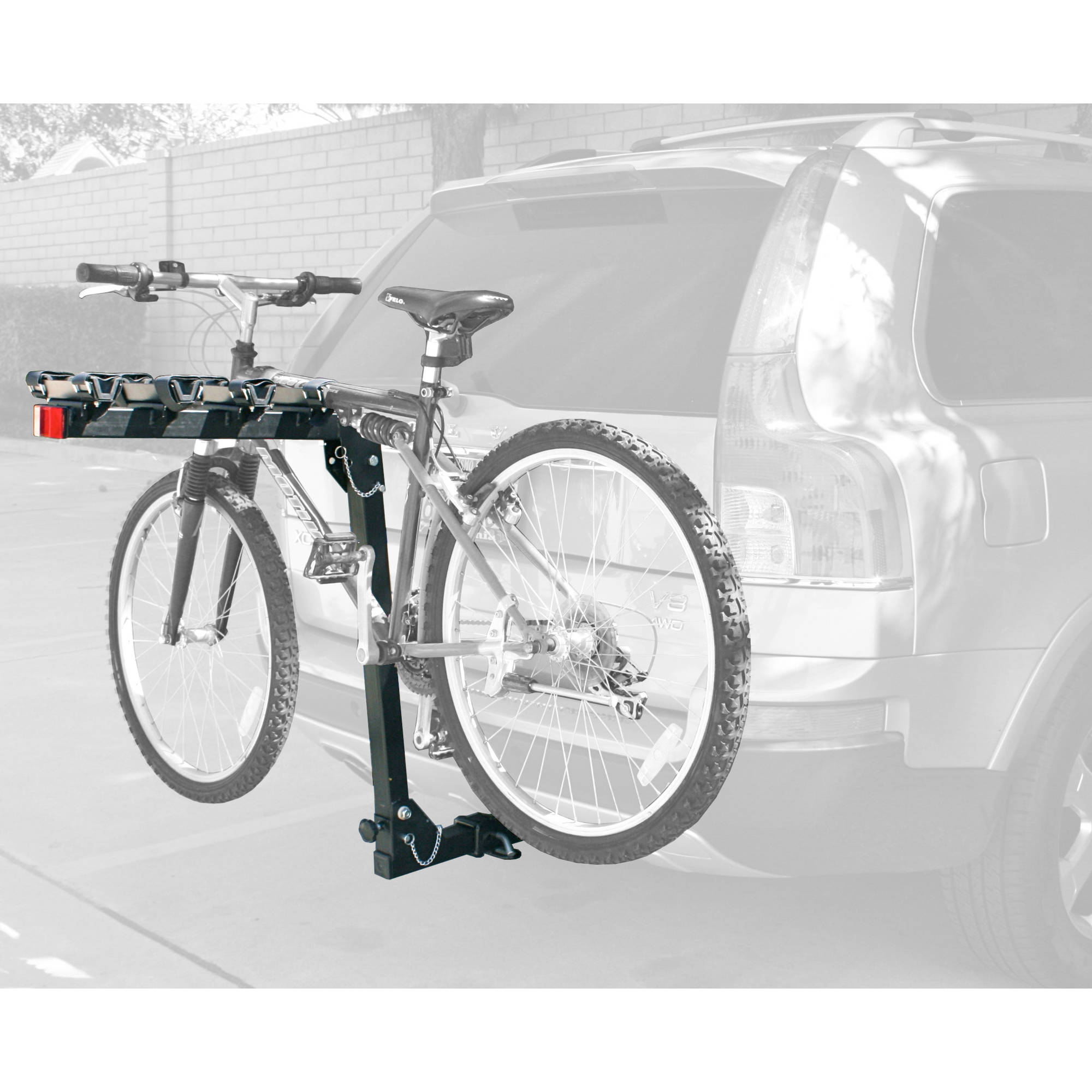 MaxWorks 70210 Hitch Mount 4-Bike Rack HD Series by MaxxHaul Towing Products