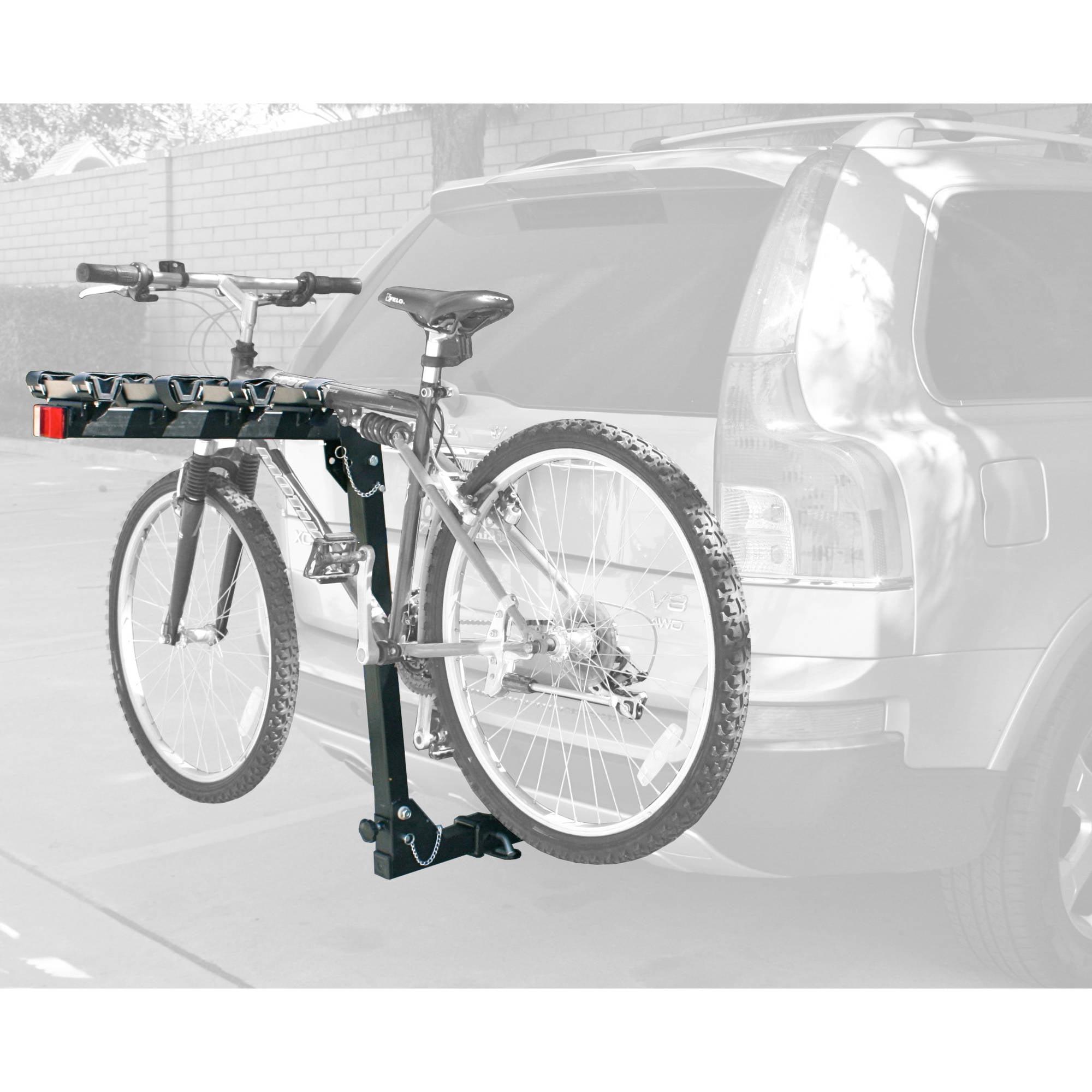 MaxWorks 70210 Hitch Mount 4-Bike Rack HD Series