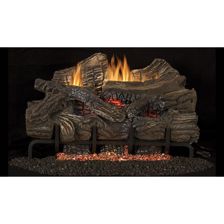 "Superior LBG36SM 36"" Smokey Mountain Vent Free Gas Log Set- LOGS ONLY"