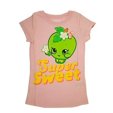 Big Girls' T-Shirt (EXTRA SMALL (4/5), Pink-Super Sweet)
