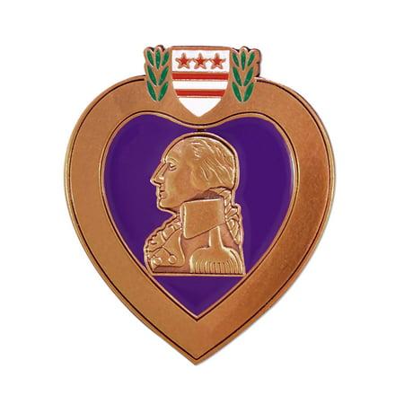 - PinMart's Purple Heart Veteran Medal Military Enamel Lapel Pin