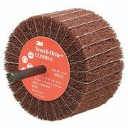 SCOTCH-BRITE FN510079323 Flap Brush Wheel,3 in.