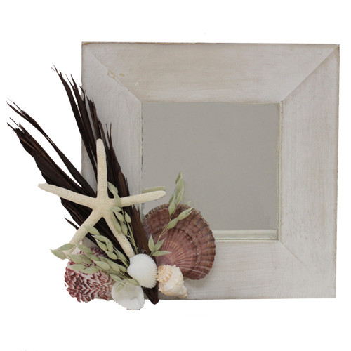 Urban Florals Beach Chic Mirror