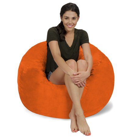 Fantastic Memory Foam Bean Bag Chair 3 Ft Machost Co Dining Chair Design Ideas Machostcouk